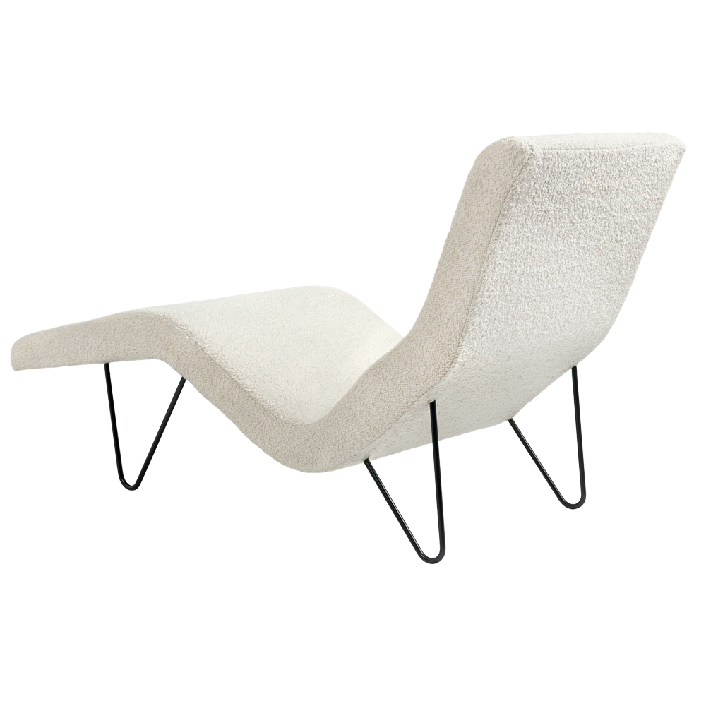 greta m grossman chaise lounge gubi suite ny boucle