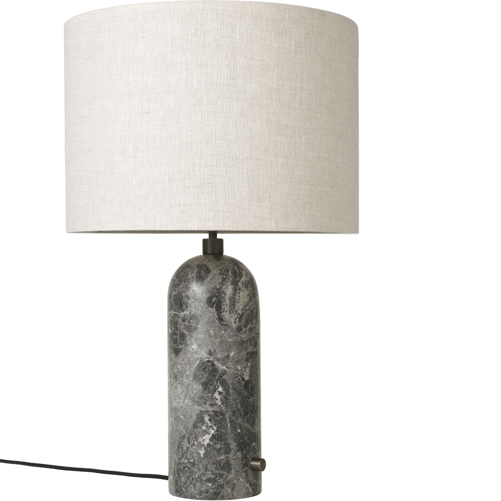 gravity table lamp space copenhagen gubi marble stone light designer contemporary lighting