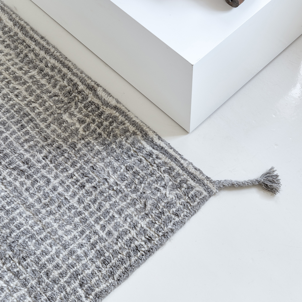 grid carpet rug woodnotes modern contemporary designer european woven rug