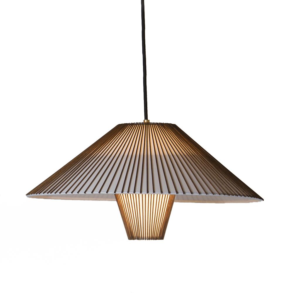 hanging pendant lamp mel smilow smilow furniture midcentury modern american designer suspension light