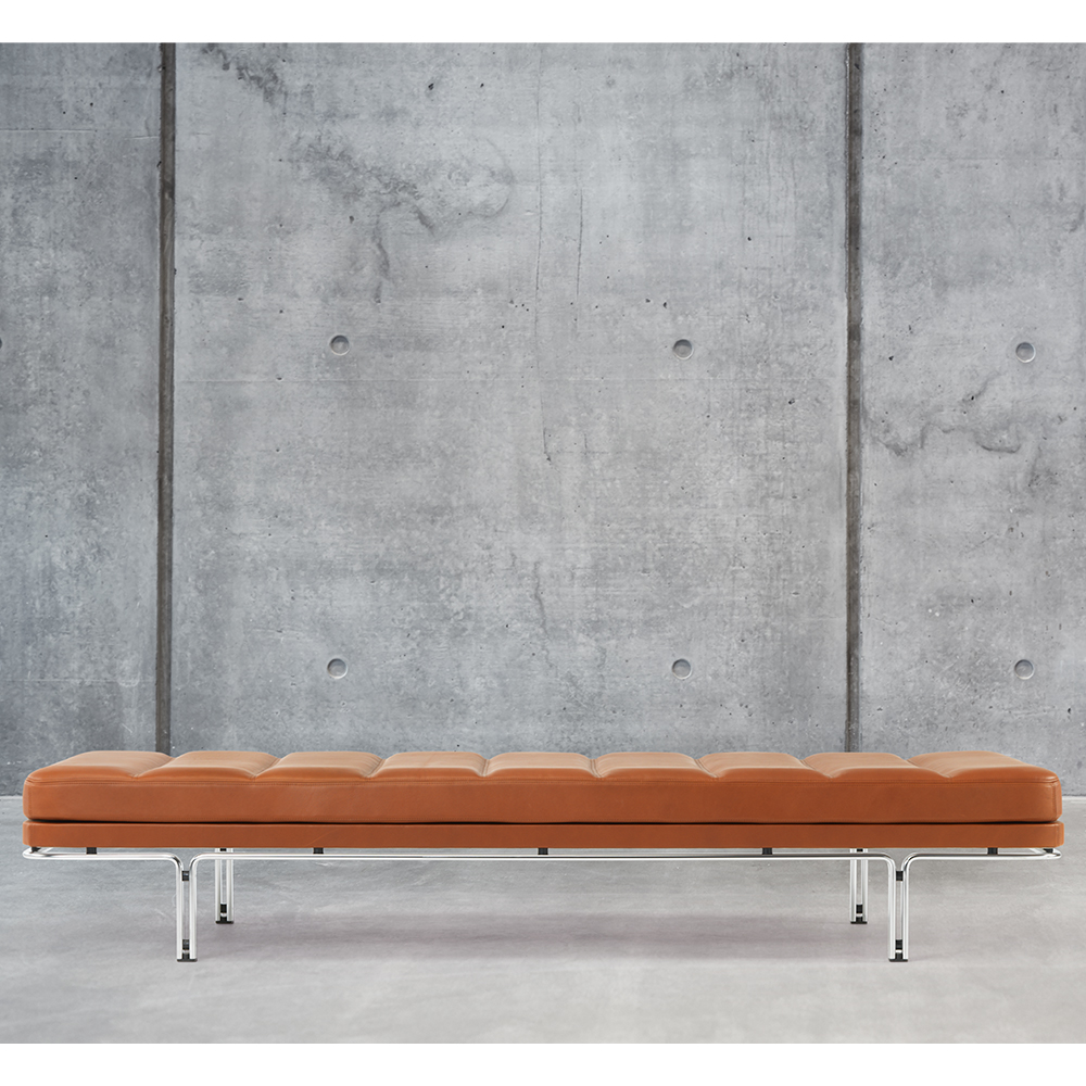 HB 6915 Daybed Horst Bruning Lange Production danish designer leather bench