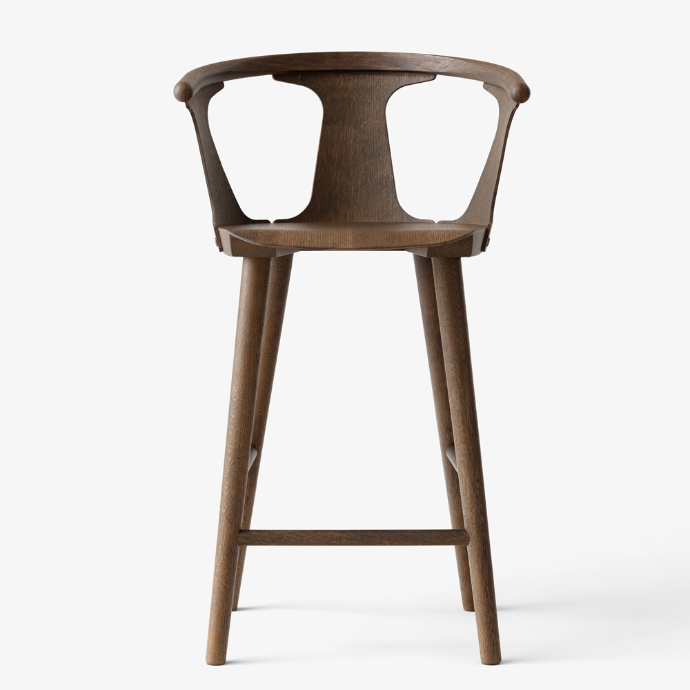 IN BETWEEN BARSTOOL SMOKED OAK