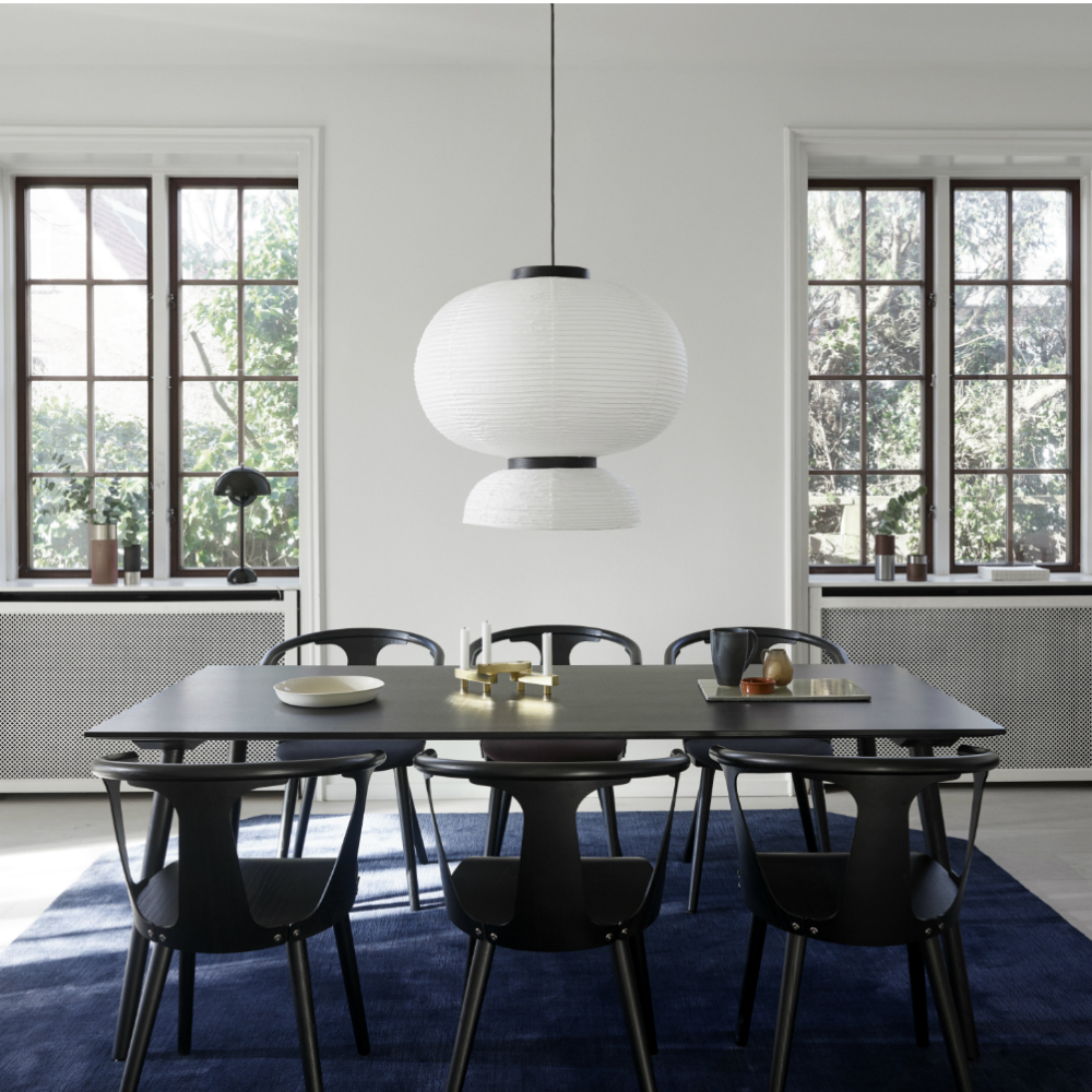 in between dining table sami kallio &tradition modern danish solid wood table