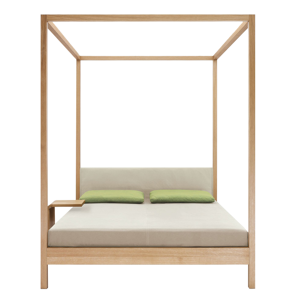 In Heaven bed designed by Birgit Gammerler and Nana Groner for Zeitraum.