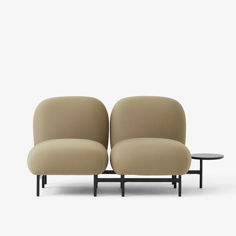 isole nendo luca nichetto andtradition modern modular sofa system tan two seater armrests