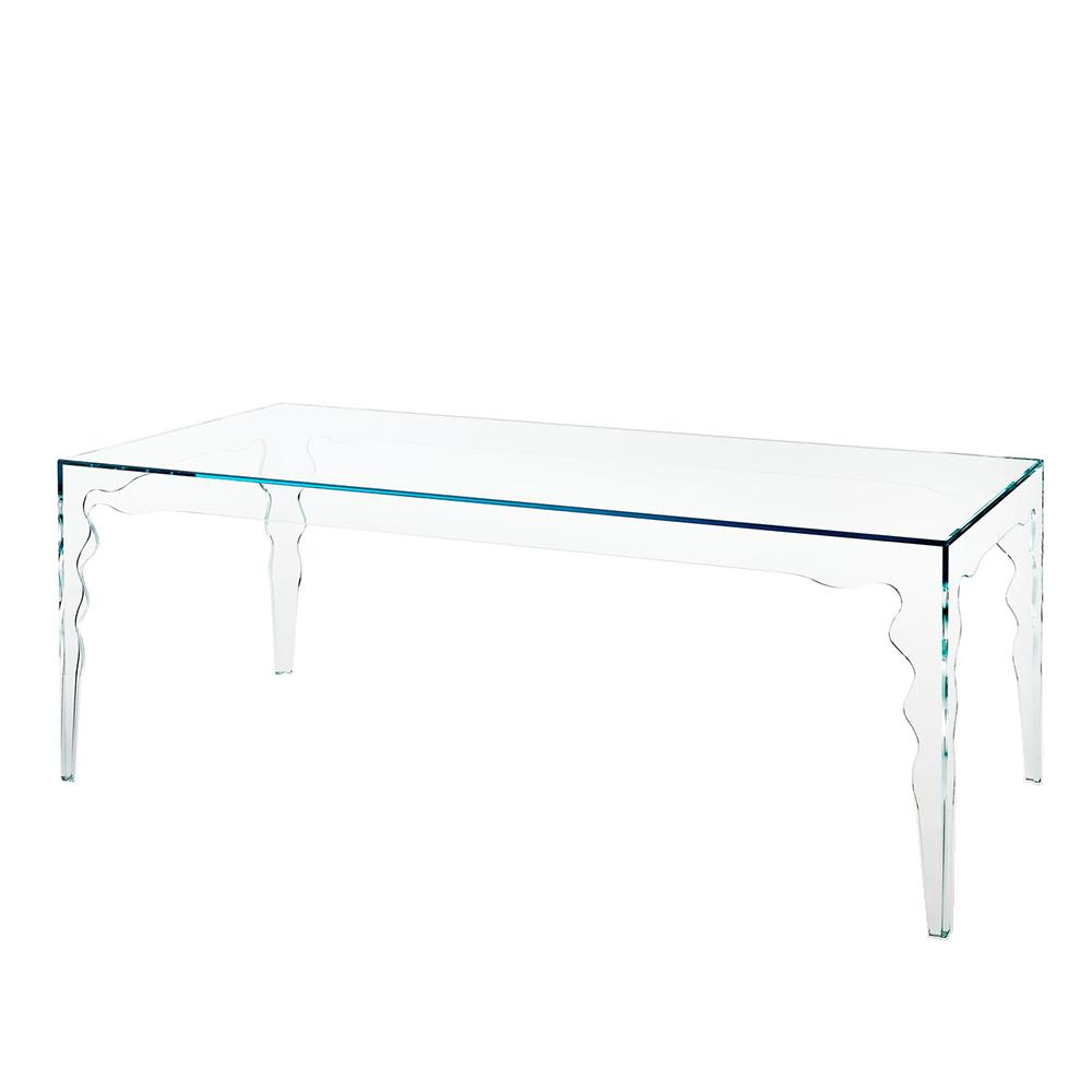 jabot mario bellini glas italia contemporary modern italian designer glass dining table