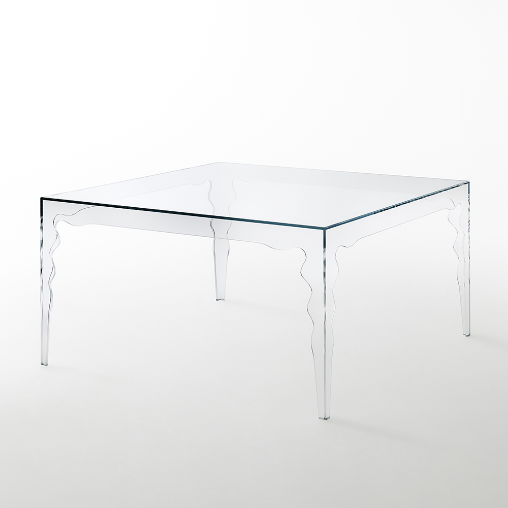jabot mario bellini glas italia contemporary modern italian designer glass dining table