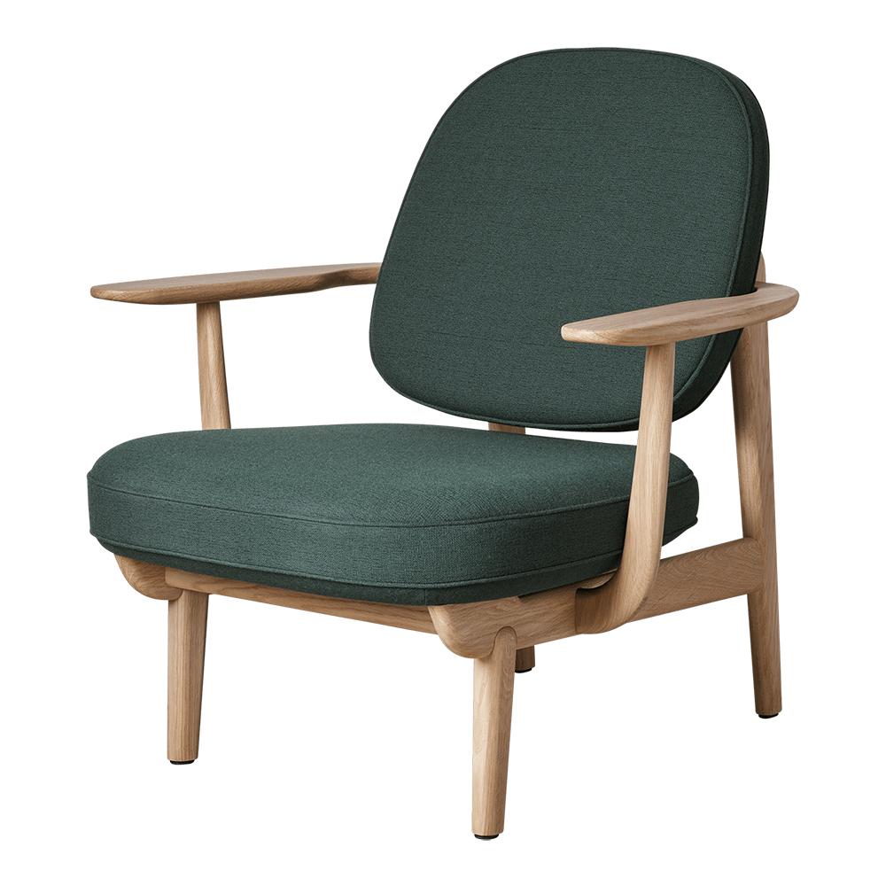 jh97 jaime hayon fritz hansen modern contemporary danish designer wood wooden upholstered mid century style danish designer lounge chair