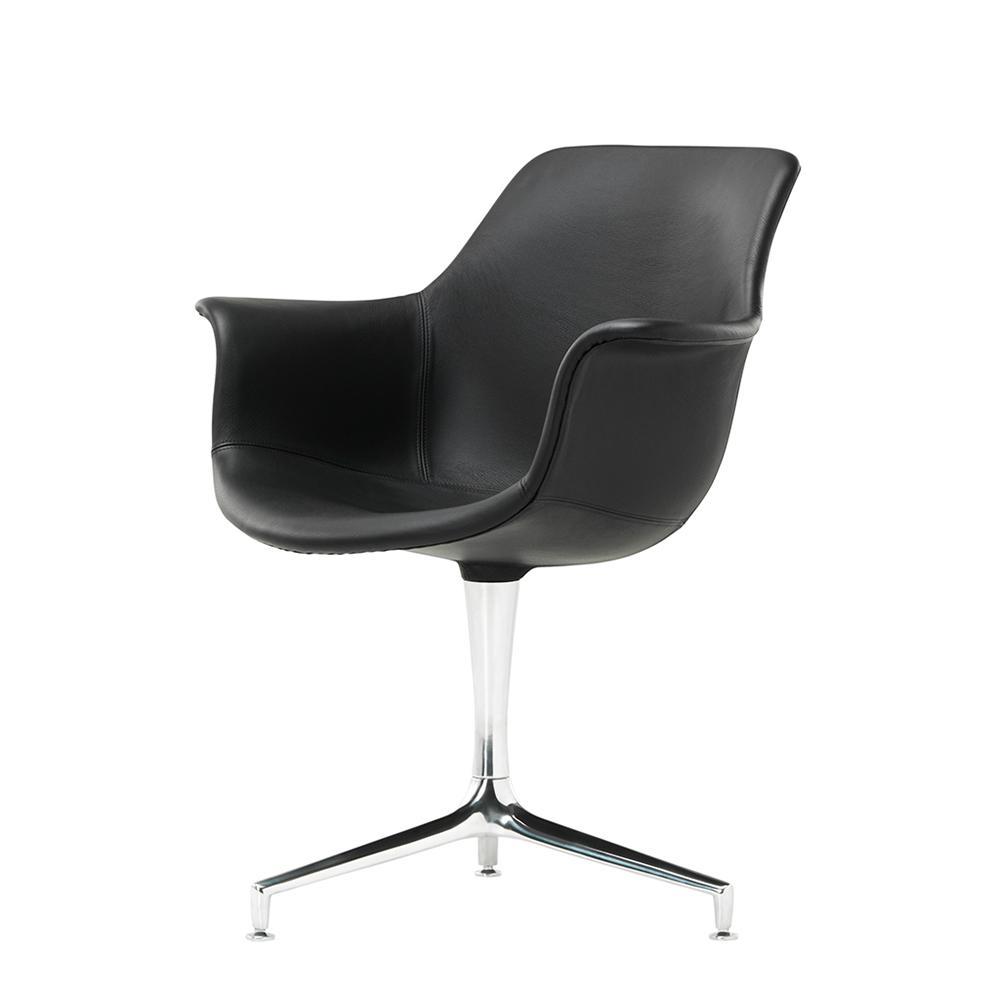 JK 810 Jorgen Kastholm Lange Production danish designer office chair