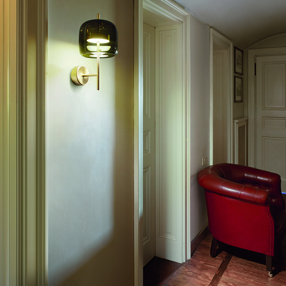 jube wall lamp favaretto and partners vistosi
