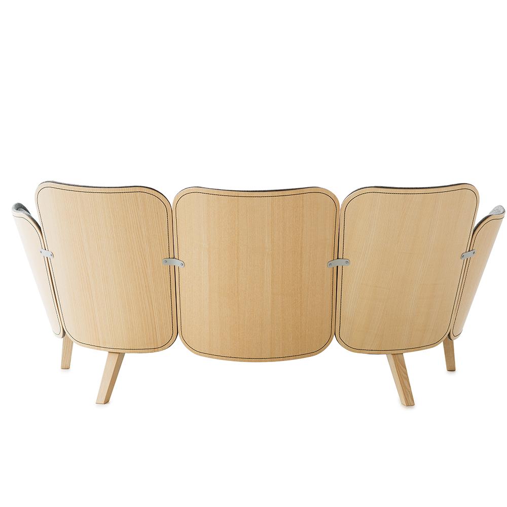 julius sofa farg blanche garsnas modern upholstered sofa