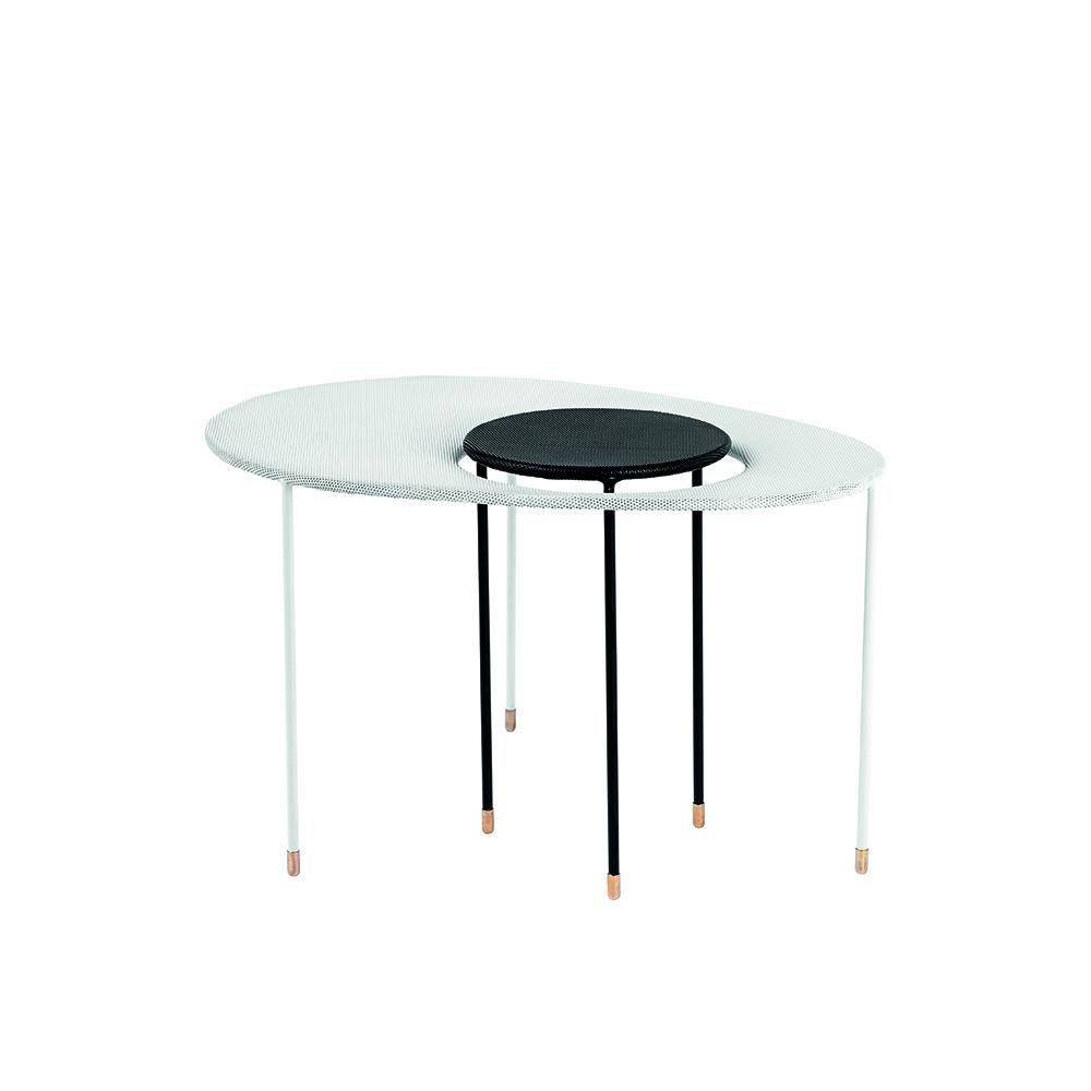 Kangourou nesting table designed by Mathieu Mategot, manufactured by GUBI Denmark