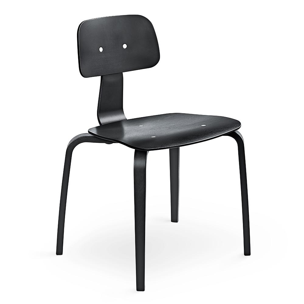 kevi 2070 task chair jorgen rasmussen englebrechts modern black wood office chair