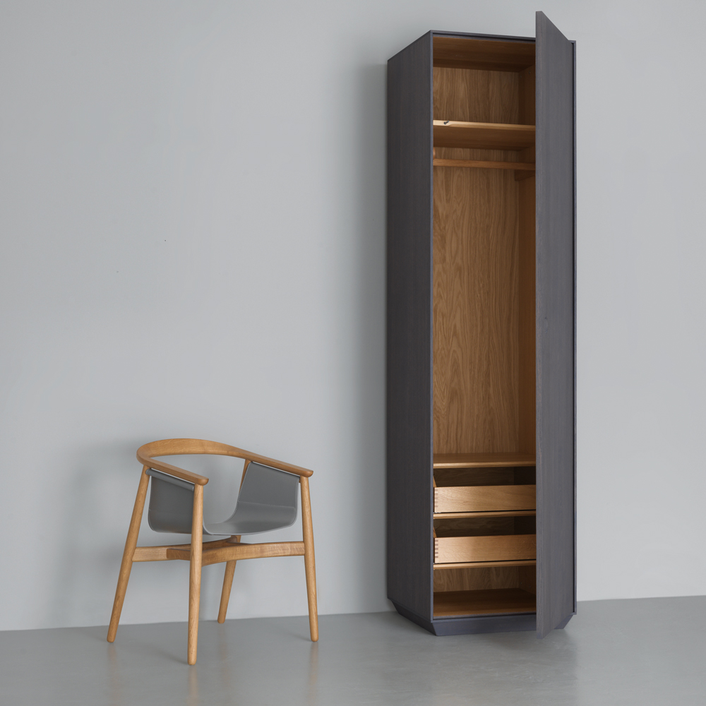 kin tall zeitraum suite ny mathias Hahn graphite grey stained oak