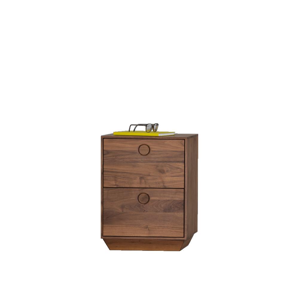 kin tiny mathias hahn zeitraum american walnut drawers