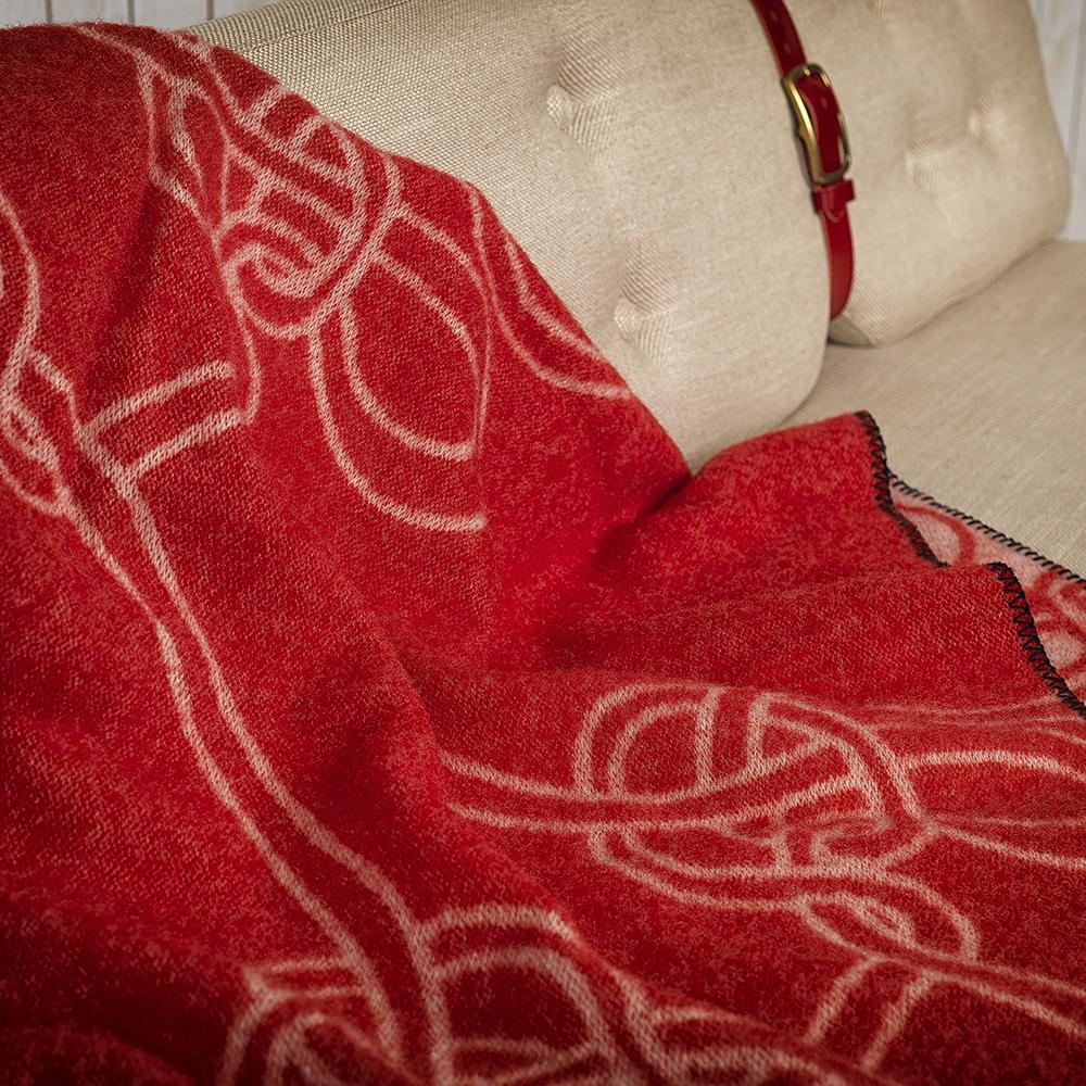 knots anna kraitz kallemo modern contemporary designer wool throw blanket