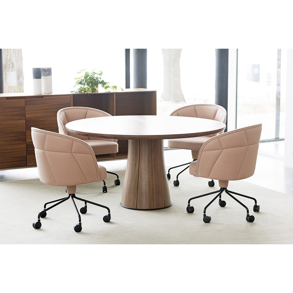 kolonn table david regestam contemporary modern designer wooden meeting table