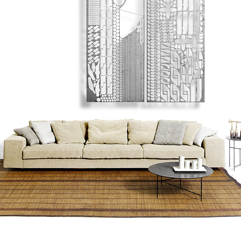 landscape piero lissoni depadova contemporary italian upholstered upholstered modular sofa