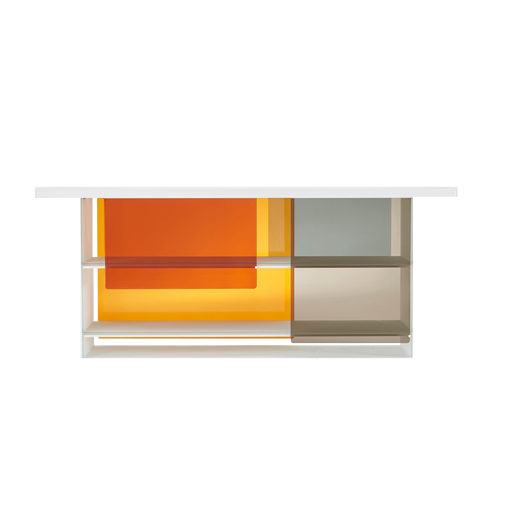 Layers designed by Nendo for Glas Italia suite ny