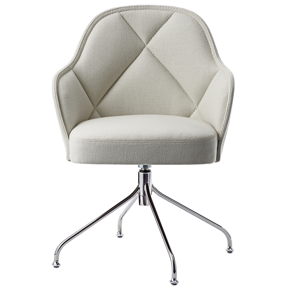 lina farg blanche garsnas modern contemporary danish designer upholstered office task swivel desk conference chair