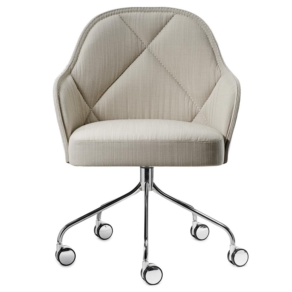 lina farg blanche garsnas modern contemporary danish designer upholstered office task swivel desk conference chair
