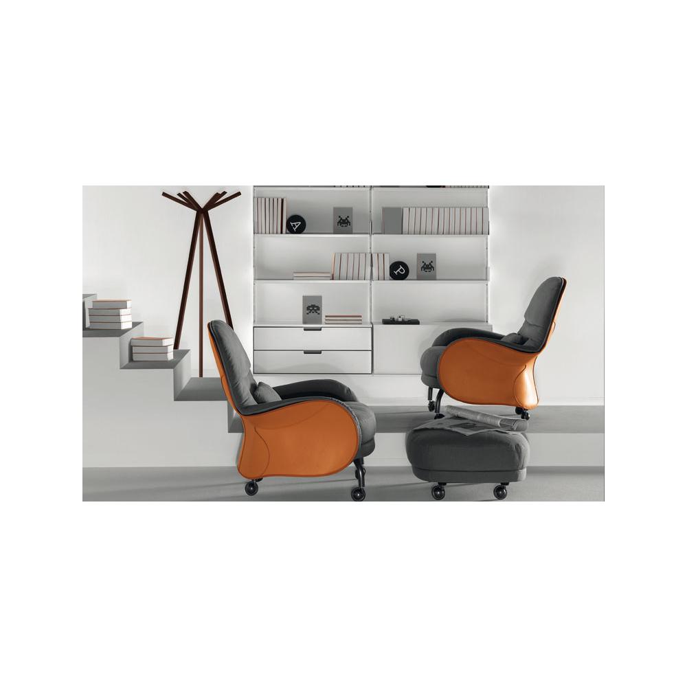 Louisiana arm chair designed by Vico Magistretti for De Padova.