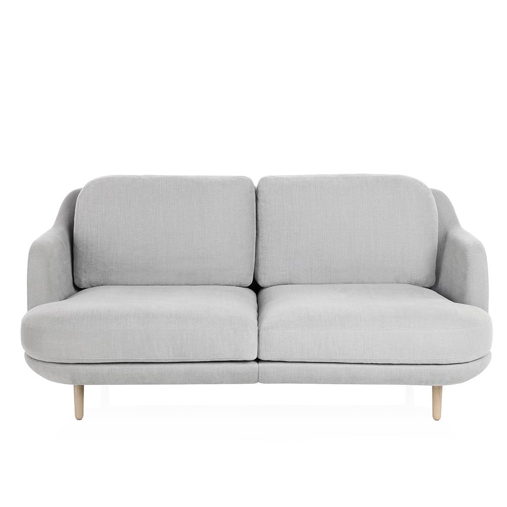 lune sofa fritz hansen modern grey upholstered sofa