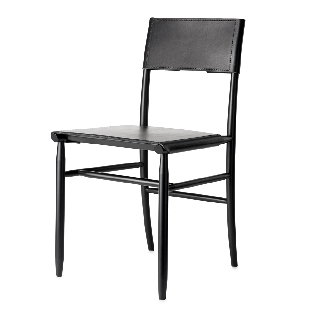 madonna chair david ericcson garsnas dining arm chair black leather