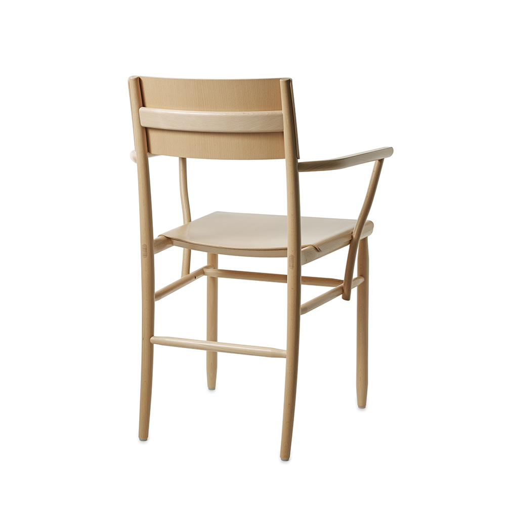 madonna ii david ericsson garsnas modern solid wood dining chair armrests