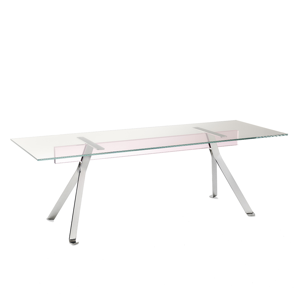mari cristal dining table philippe starck glas italia modern contemporary italian designer dining office table