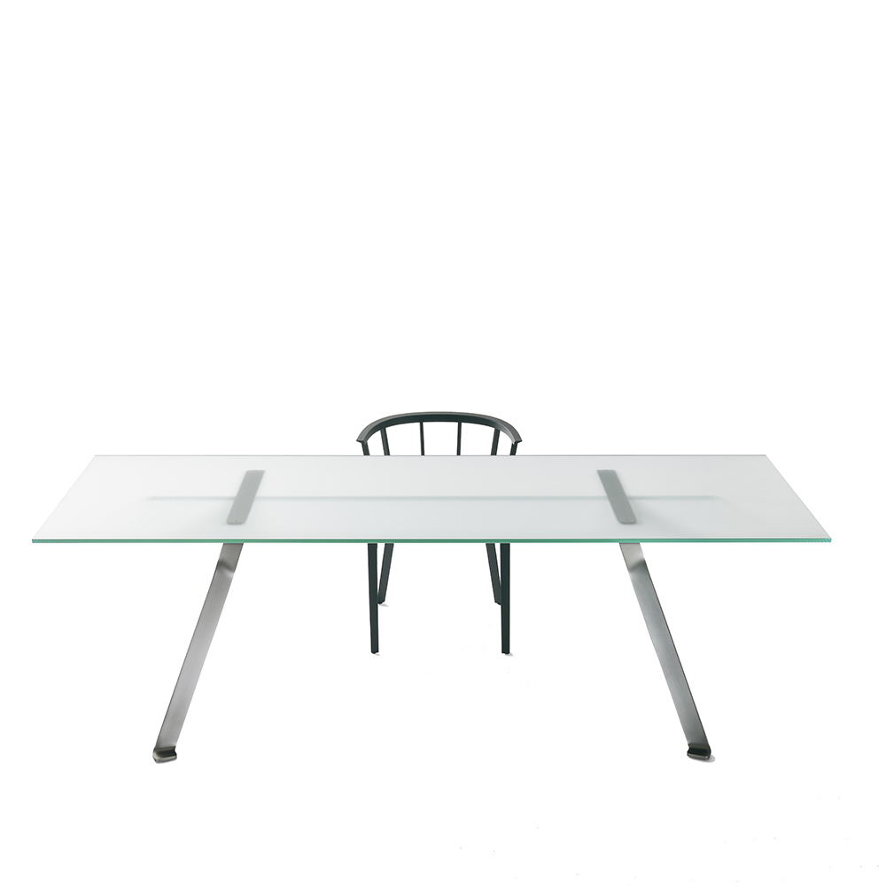 mari cristal dining table philippe starck glas italia modern contemporary italian designer dining office table