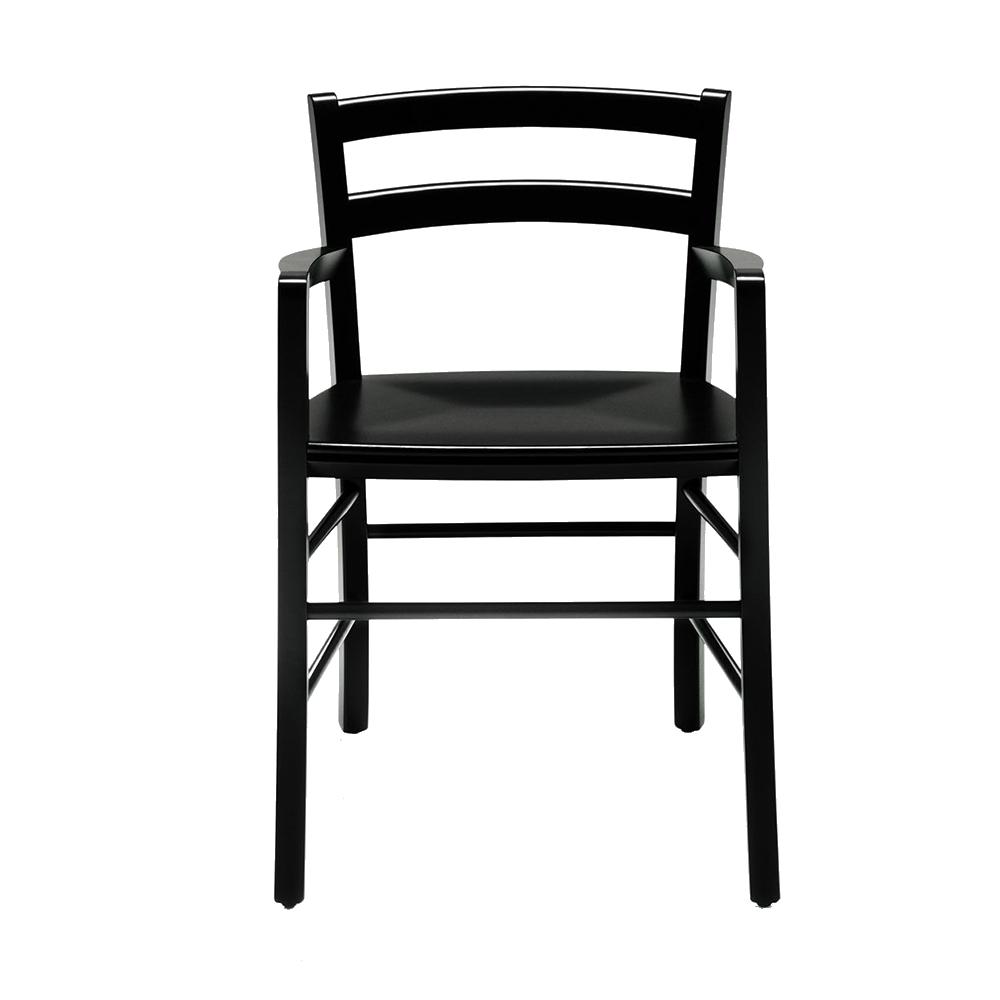 marocca chair depadova suiet ny black frame black seat vico magiastretti suite ny