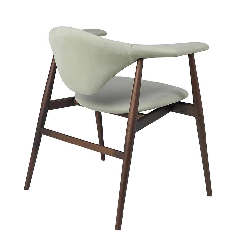 masculo dining chair gamfratesi gubi modern upholstered wooden dining chair