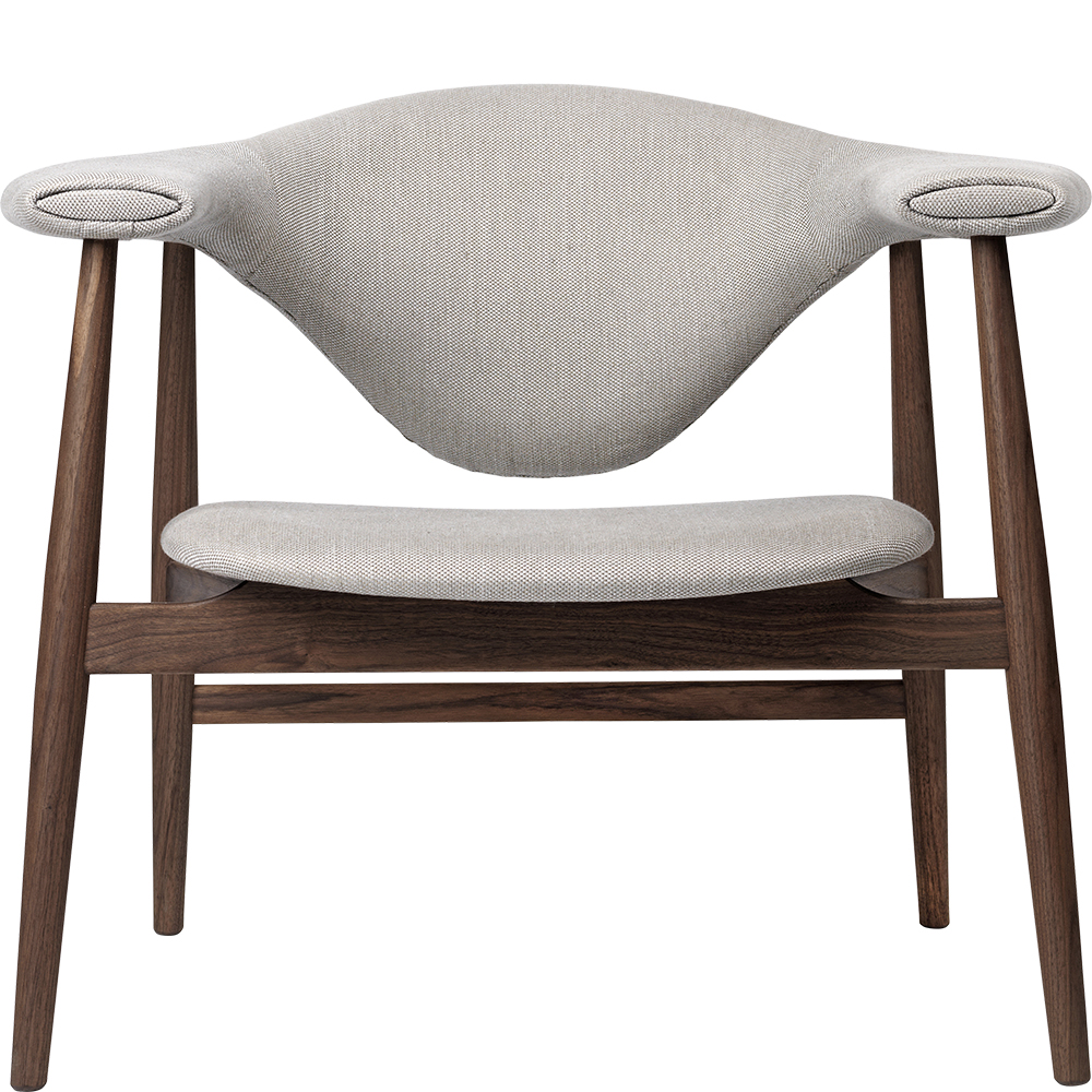 masculo lounge lounge chair gamfratesi gubi modern contemporary designer mid century style  lounge upholstered wood wooden chair with arms