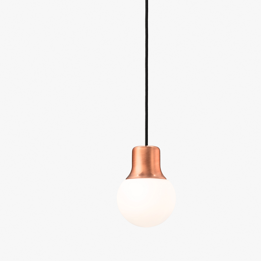 Norm ARchitects Mass pendant light andtradition &tradition copper