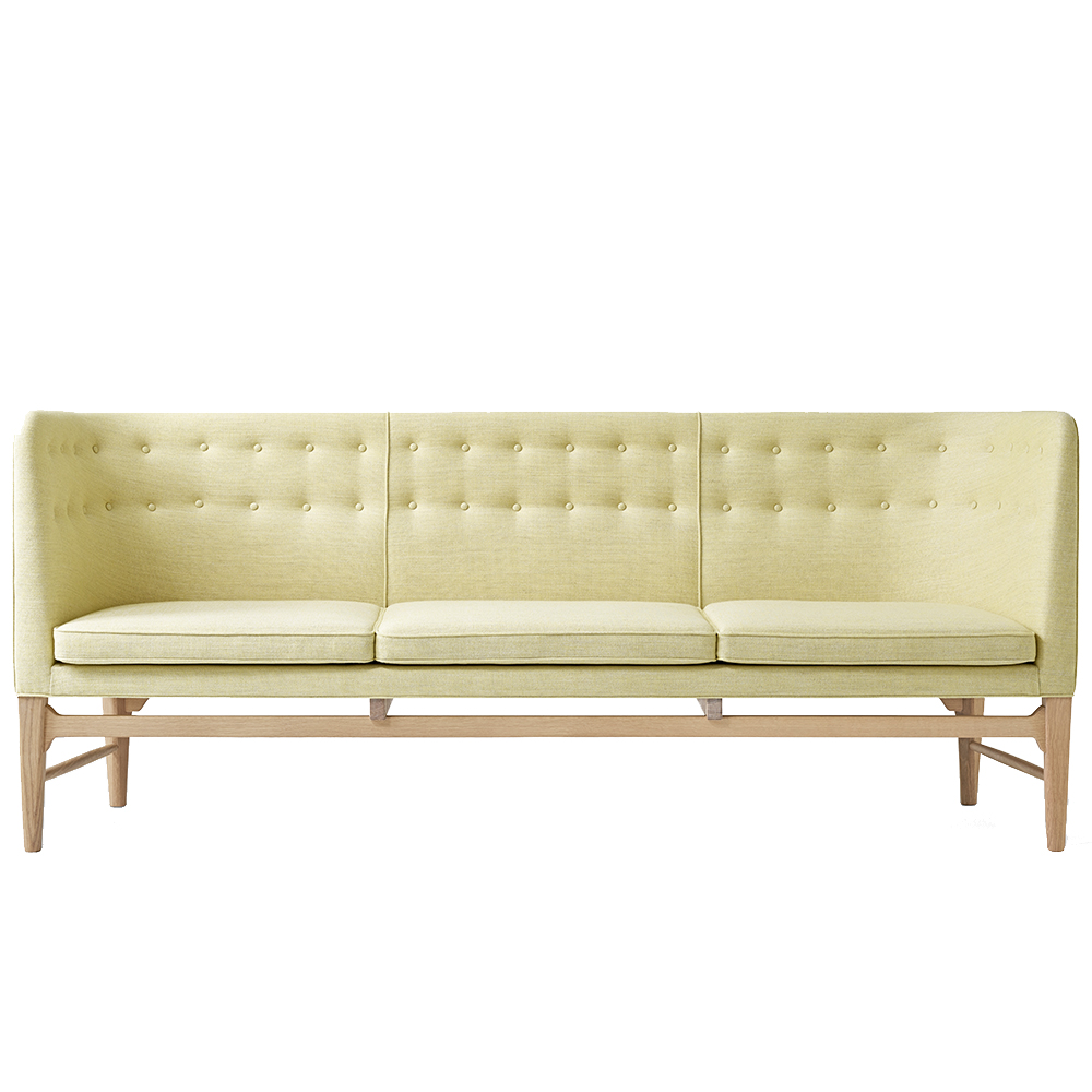 Mayor Sofa Arne Jacobsen Flemming Lassen AndTradition high back couch danish design