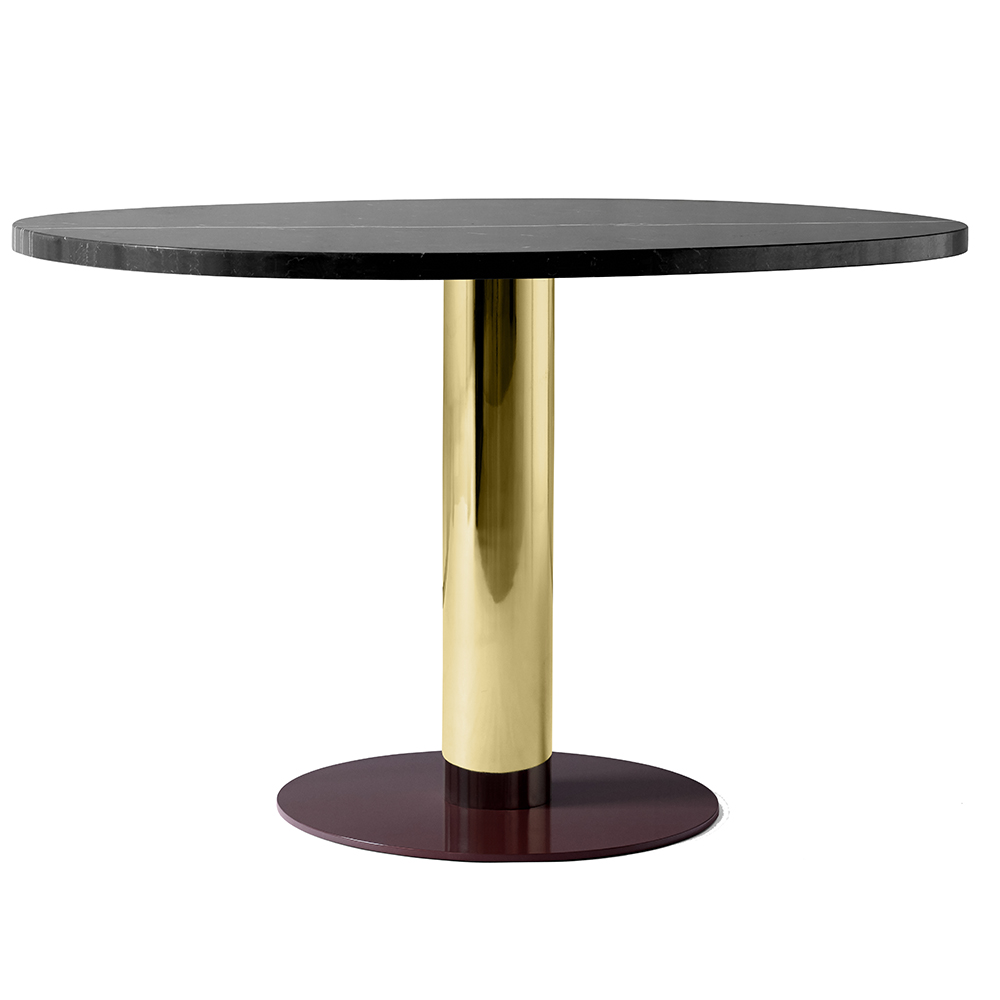 mezcla coffee table jaime hayon andtradition &tradition marble travertine steel metallic metal oak nero marquina contemporary modern designer occasional table