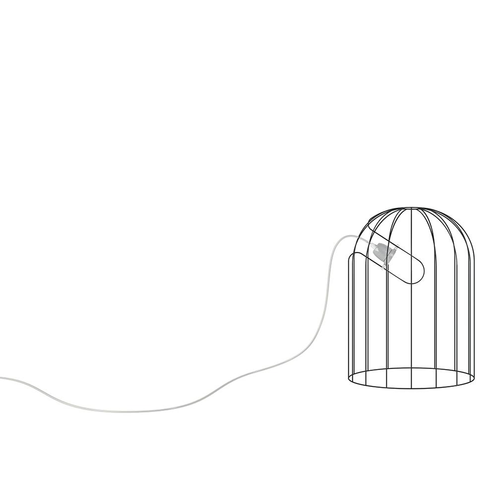 Mogura Light Nendo De Padova DePadova wire chandelier italian pendant japanese floor lamp