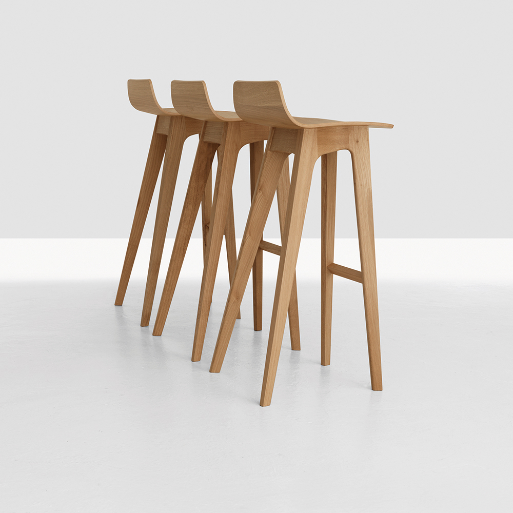 Morph Stool designed by Formstelle for Zeitraum