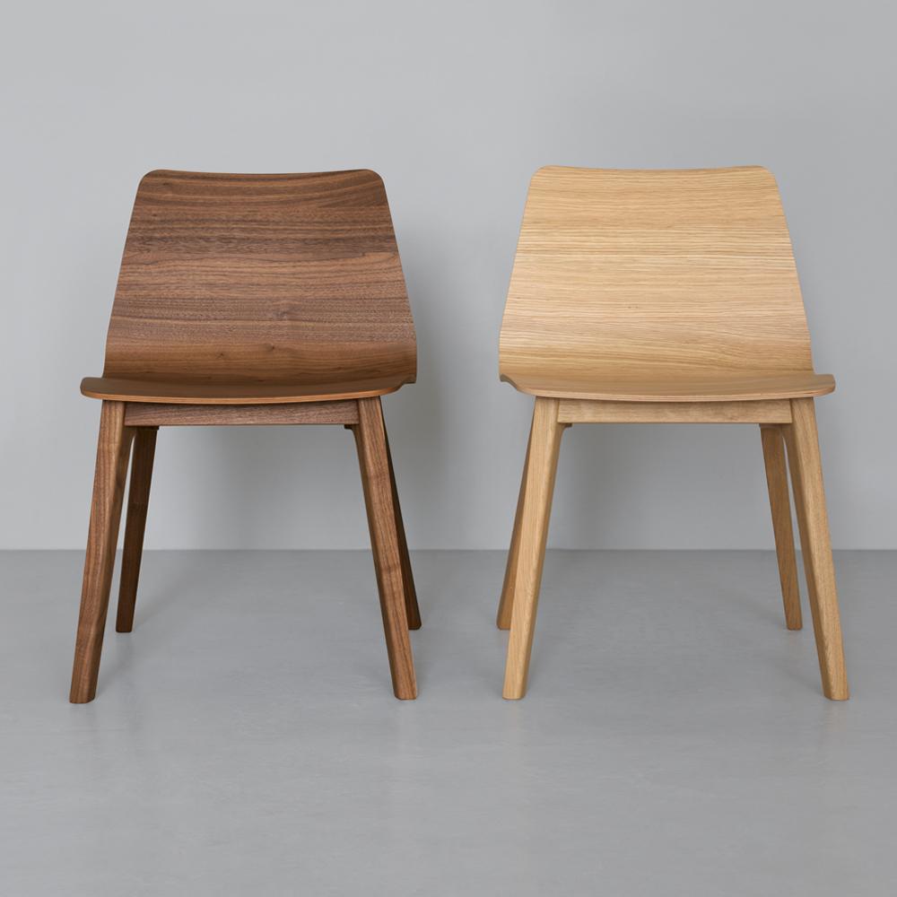 morph plus chair walnut oak zeitraum suite ny formstelle