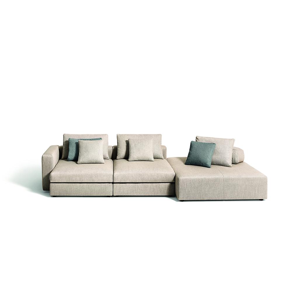 Mosaique Pierre Lissoni Depadova modern designer italian sofa