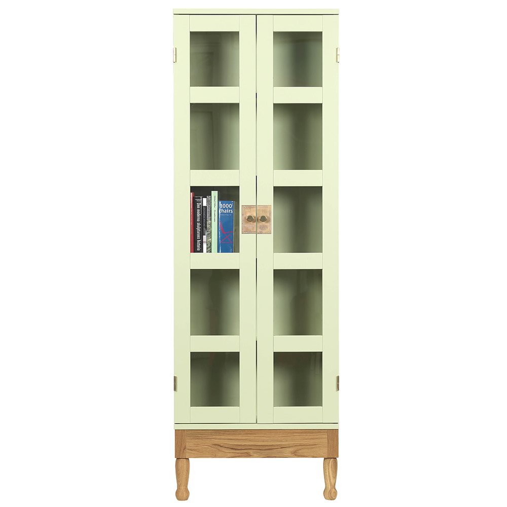 national geographic mats theselius kallemo modern contemporary glass door bookshelf display unit