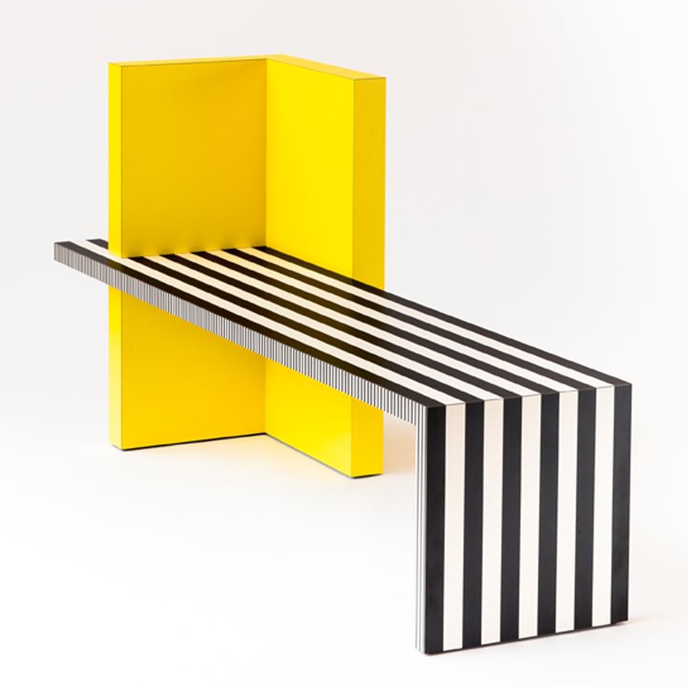 Neo laminati bench no 84 kelly behun studio suite ny for New style furniture design