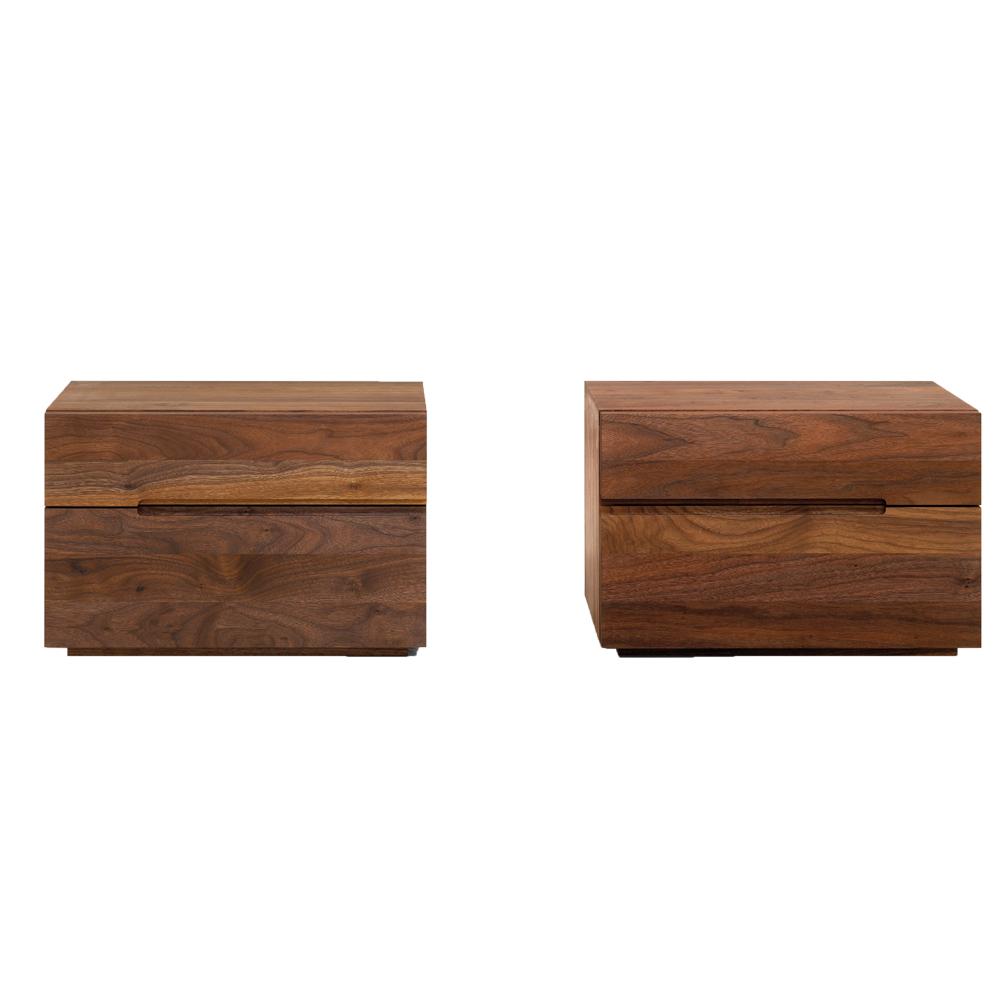 nightstand fortstelle Zeitraum suite ny walnut side table dresser
