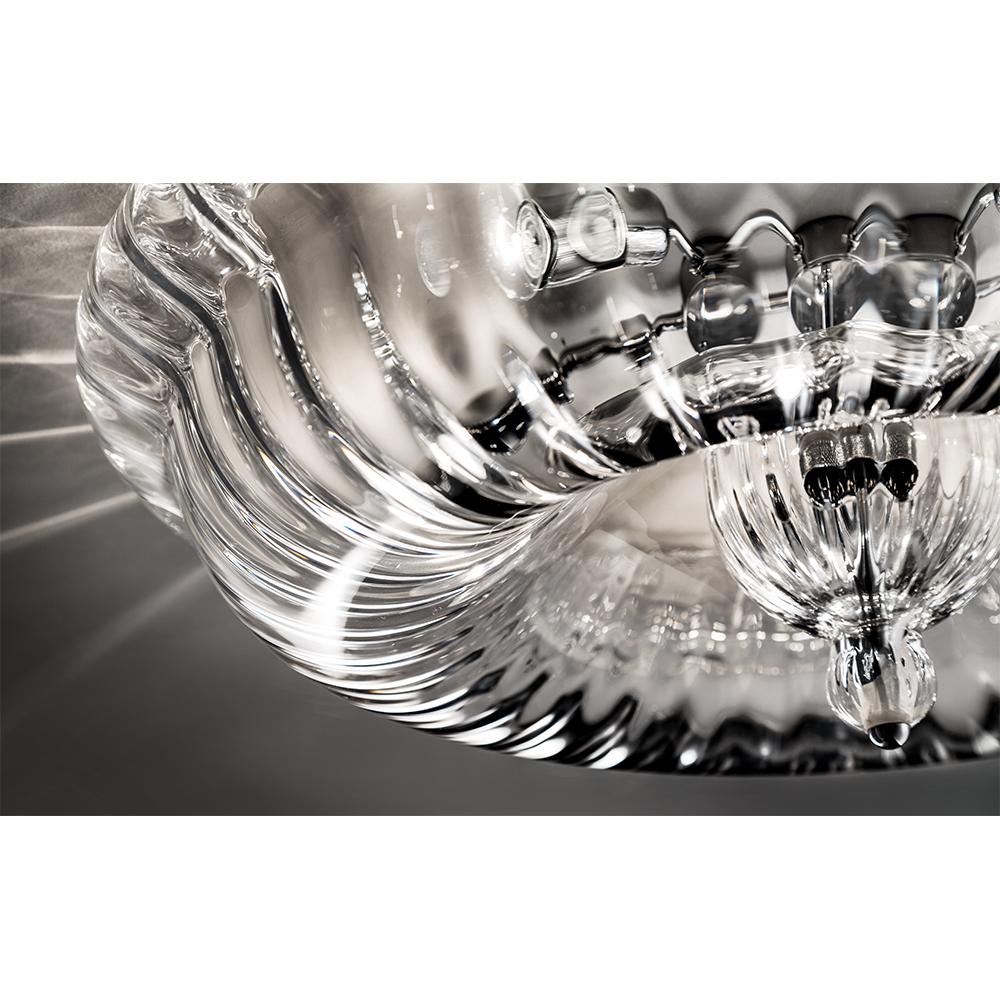 Novecento Romani Saccani Architetti Associati Vistosi modern italian glass ceiling lamp