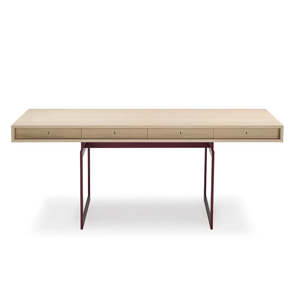 office desk bodil kjaer karakter contemporary mid century modern slim wood wooden danish designer desk work desk desk with drawers