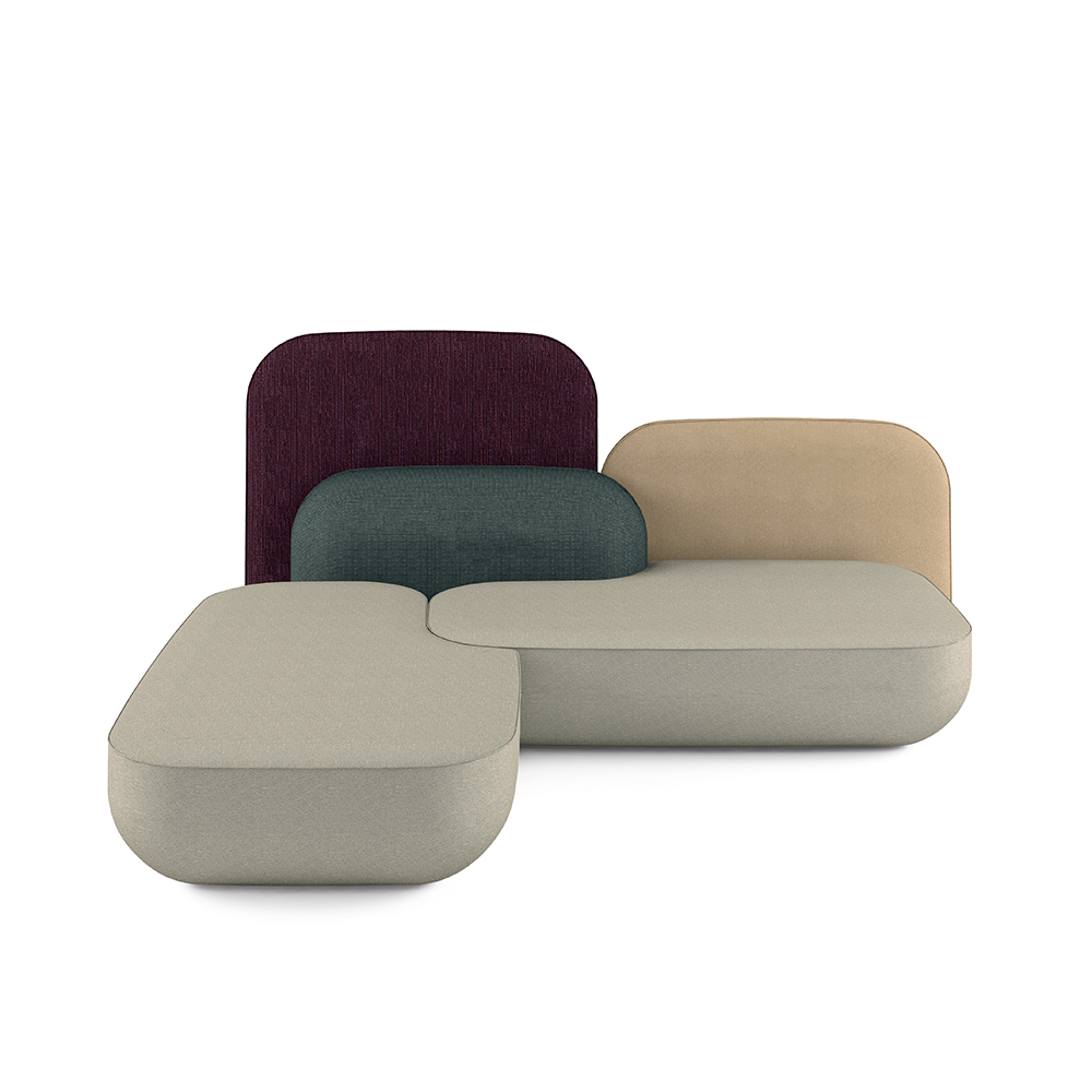 okome nendo alias modern couch seating system