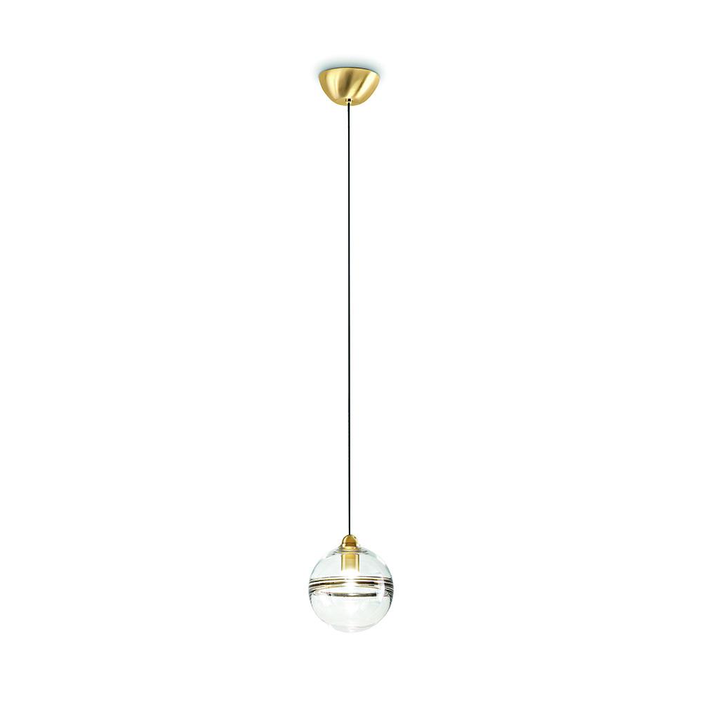 oro suspension pendant light vistosi modern contemporary designer italian glass globe orb lighting