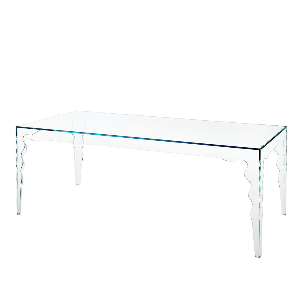 Oscar table designed by Piero Lissoni for Glas Italia.