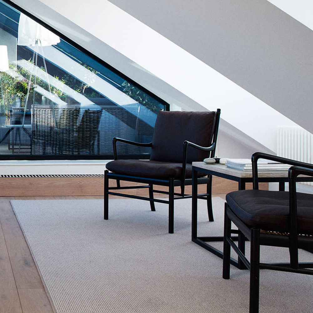 ow149 colonial chair ole wanscher living lounge midcentury furniture design carl hansen and son danish shop suite ny